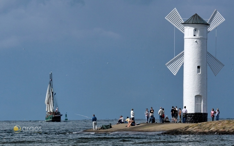 Leuchtturm in Swinoujscie