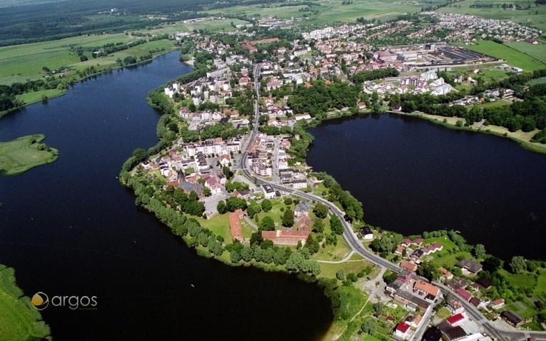 Luftaufnahme der Ortschaft Szum