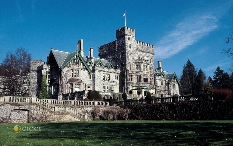 Historisches Schloss Hatley in Victoria