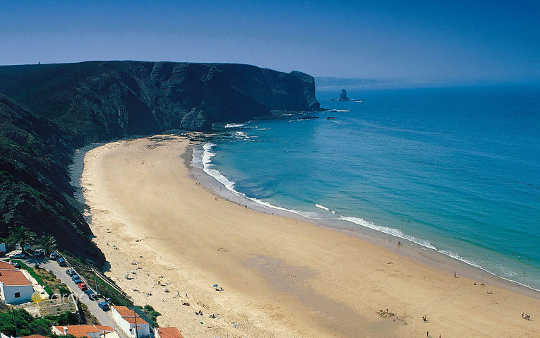 Arrifana Beach an der Costa Vicentina