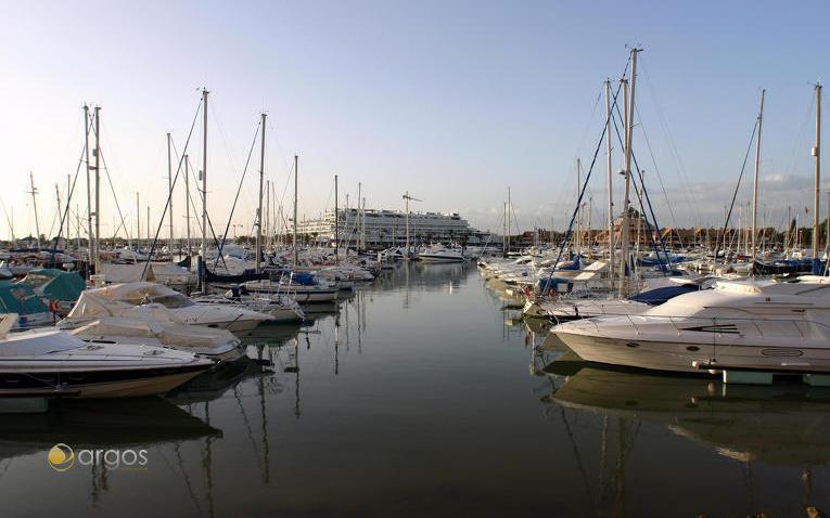 Yachten in der Marina de Vilamoura