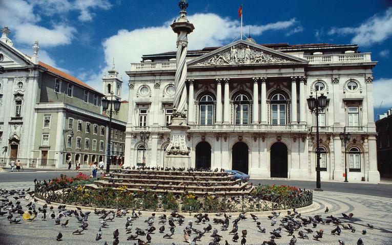 Praca do Municipio in Lissabon