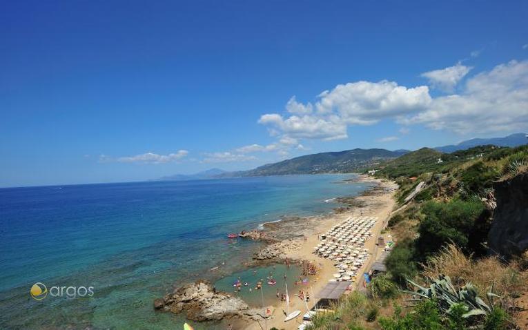 Strand von Palinuro in der Provinz Salerno