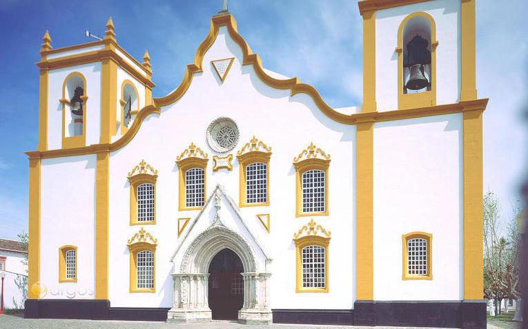 Kirche in Praia da Victoria auf Terceira Island