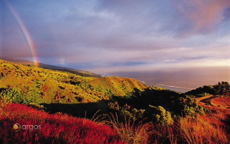 Sonnenuntergang in der Südsee