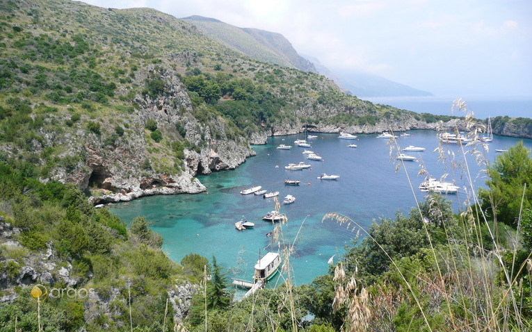 Bucht Infreschi in der Gemeinde Camerota
