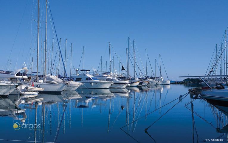 Yachten in der Marina in Limassol