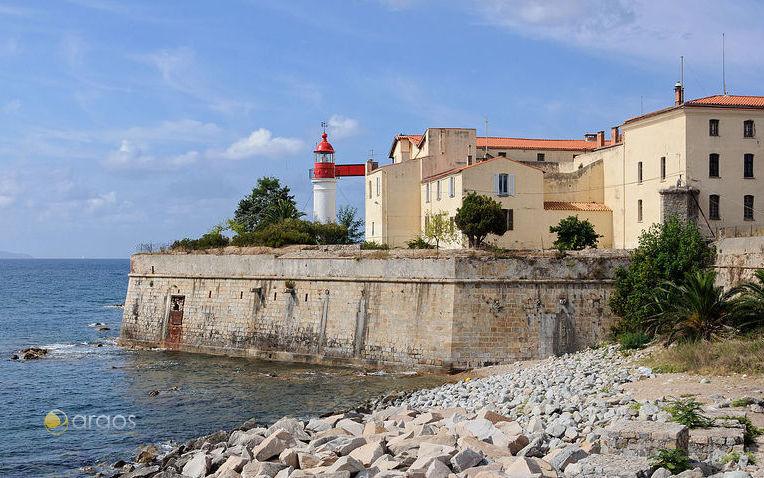 Zitadelle in der Hauptstadt von Korsika Ajaccio