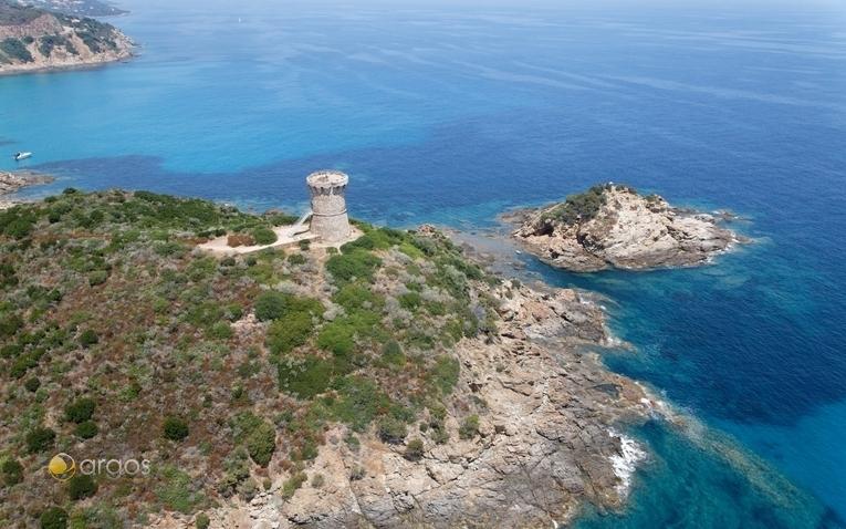 Strand Fateau auf Korsika