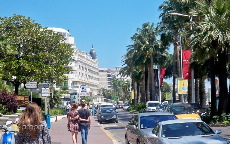 Flanieren an der Promenade von Cannes