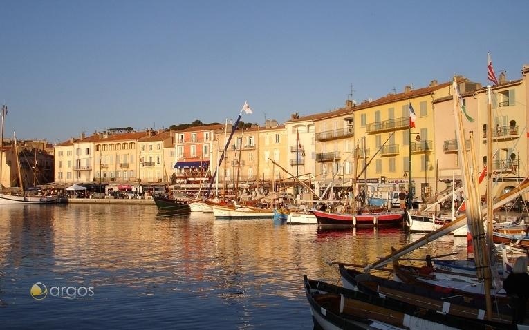 Boote im Hafen von St. Tropez