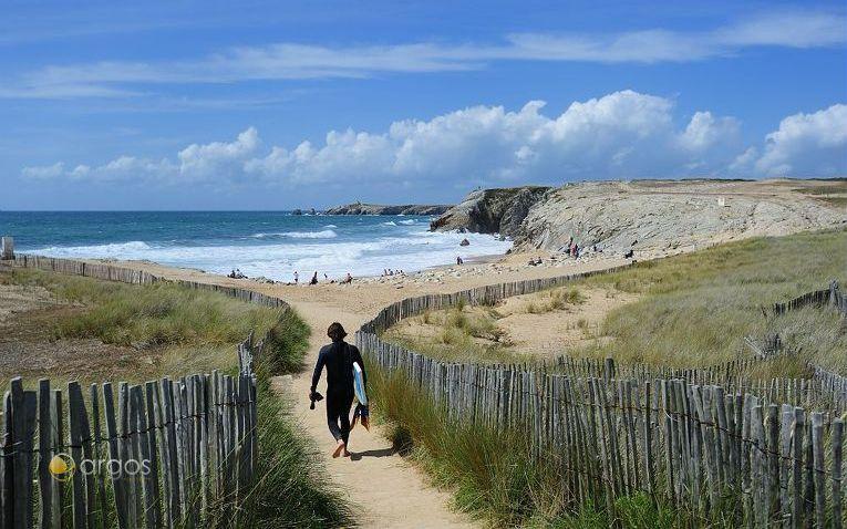 Die Bretagne bietet zahlreiche Angebote für Wassersportler