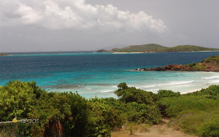 Strand auf der Insel Culebra
