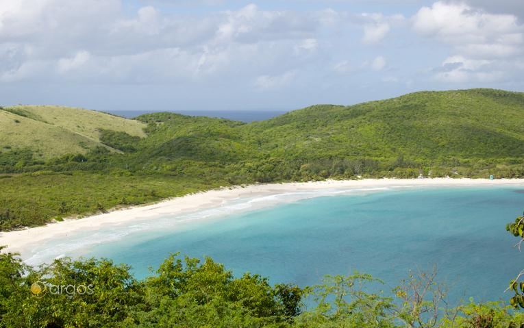 Blick über die Insel Culebra
