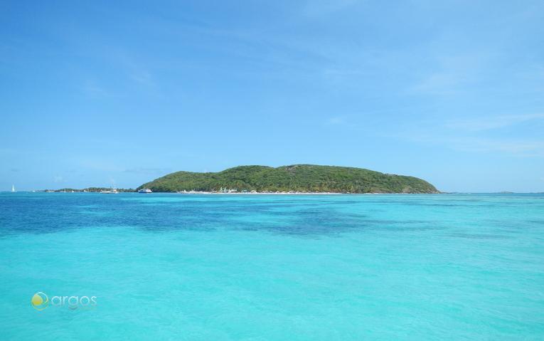 Blick auf die Insel Palomino
