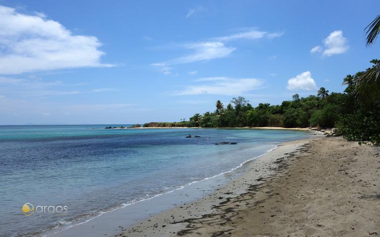 Strand auf der Insel Vieques