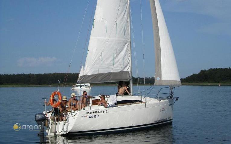 Yachturlaub in den Masuren in Polent