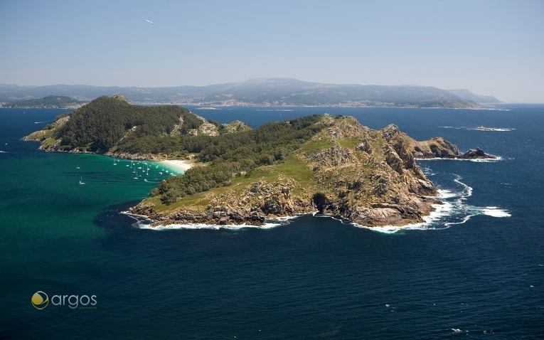 Insel San Martino bei den Cíes Inseln