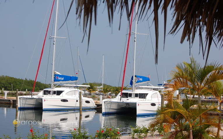 Sunsail & Moorings Basis in Laru Beya Marina, Placencia