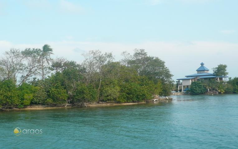 Pelican Cays, Hide away bei Kim und Dustin