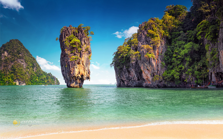 Kao Phing Khan (James Bond Island) - Phang Nga Bucht
