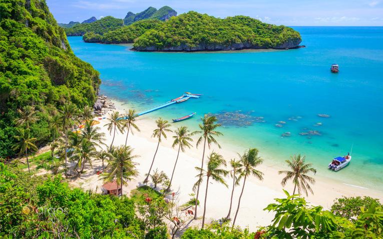 Der Strand von Ko Samui
