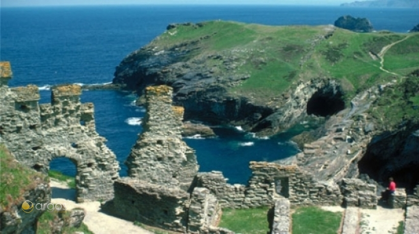 Tintagel Castle, Tintagel Cornwall