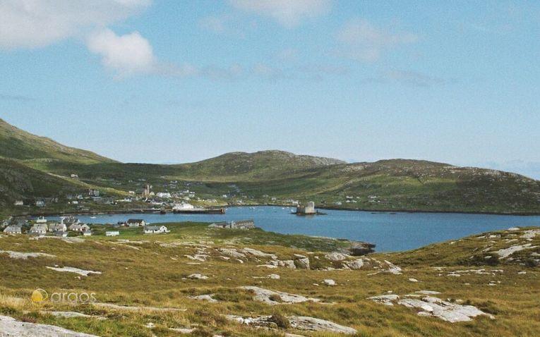Bucht von Castlebay - Insel Barra