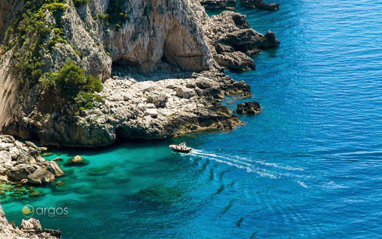 Capri's Küste