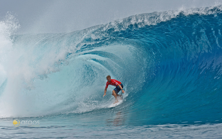 Wellenreiten auf den legendären