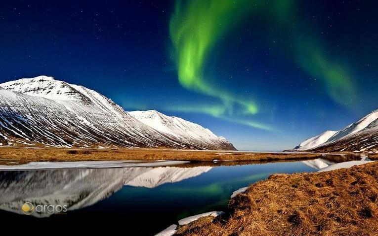 Aurora Borealis (Polarlichter) / Island