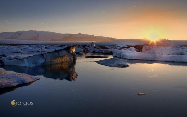 Gletcherlagune Jökulsárlón - Island
