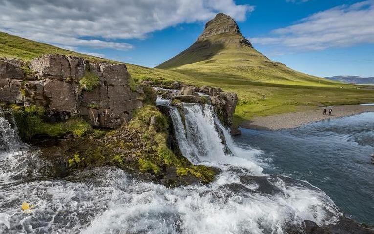 Kirkjufellfoss / Island