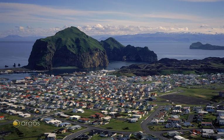 Vestmannaeyjar / Insel Heimaey im Süden Islands