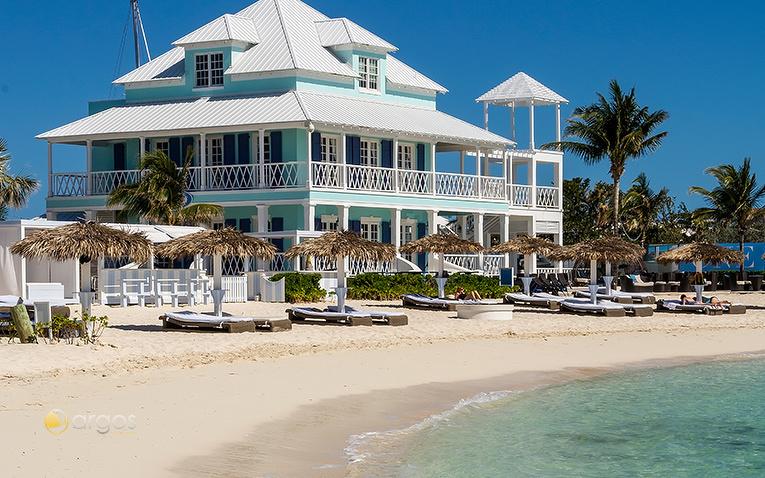 Strandhotel auf den Bahamas