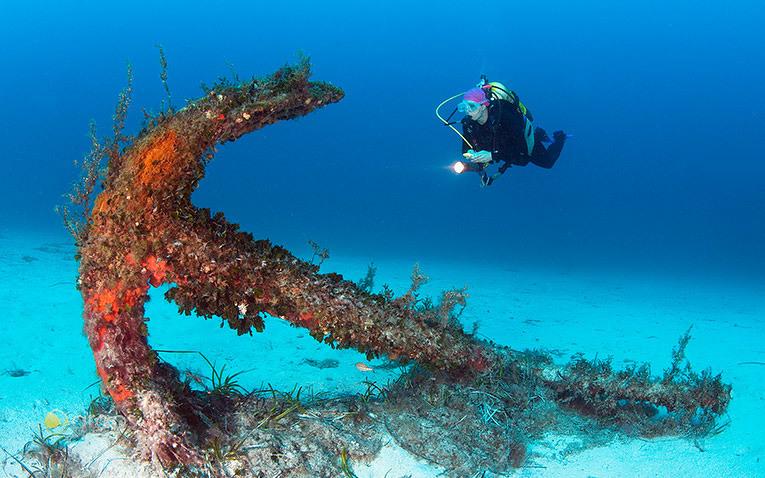 Malta ist auch ein beliebter Hotspot für Taucher