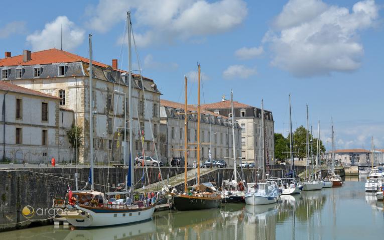 Magasin aux vivres de Rochefort, Charente-Maritime, France