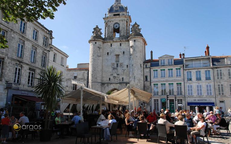 Grosse Horloge Vieux Port, la rochelle