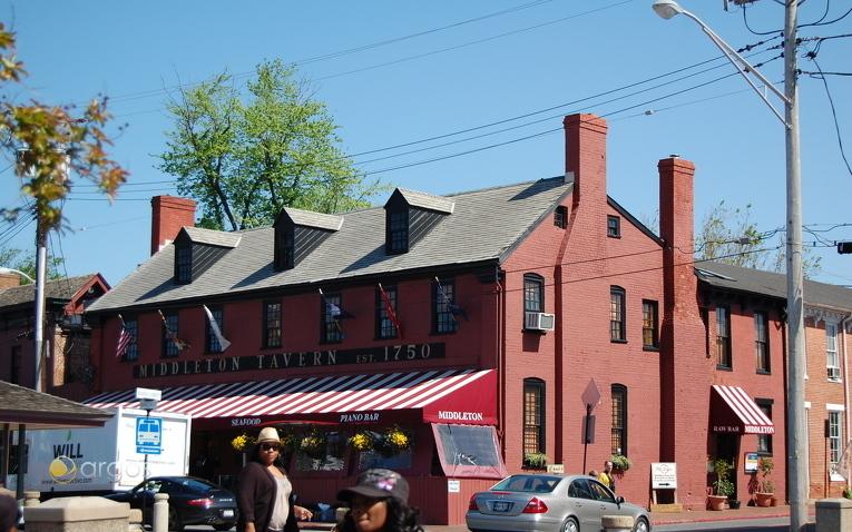 Annapolis historic district, Chesapeake Bay - Maryland