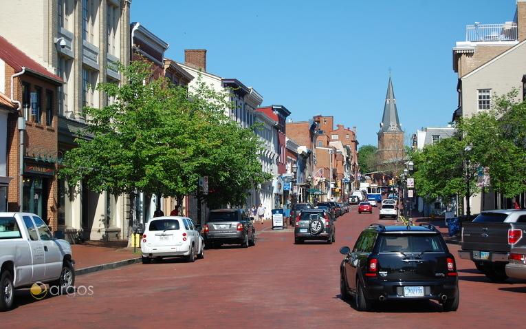 Innenstadt Annapolis , Chesapeake Bay - Maryland