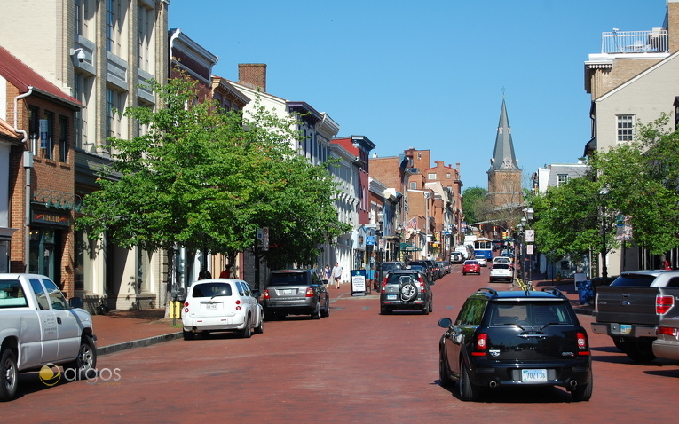 Innenstadt Annapolis , Chesapeake Bay - Maryland