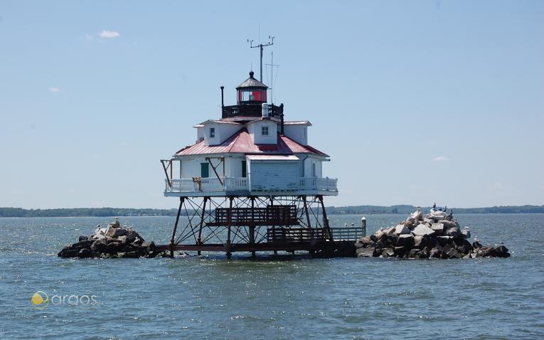 Thomas Point Shoal Lighthouse, Annapolis, Maryland