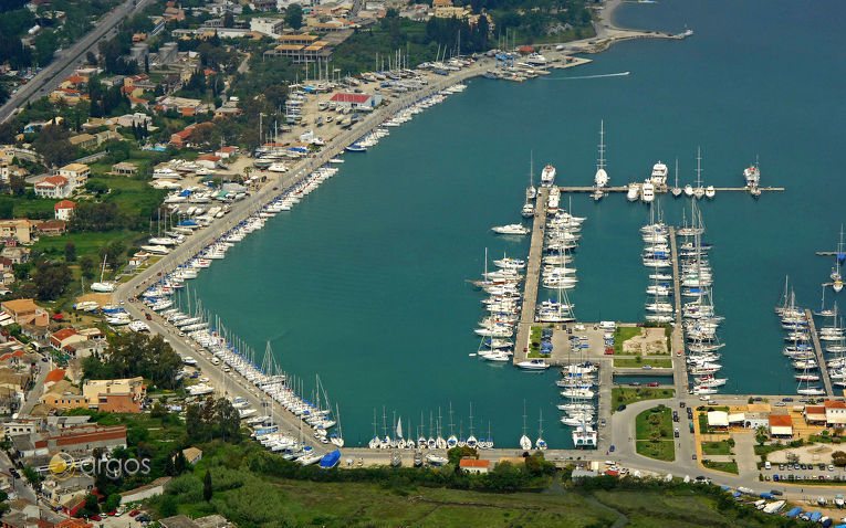 Korfu Gouvia Marina