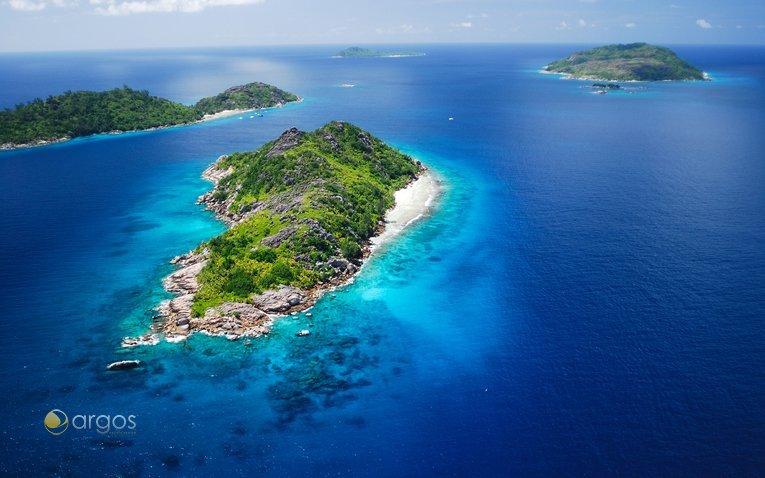 Inseln Felicite mit Grand und Petit Soeur