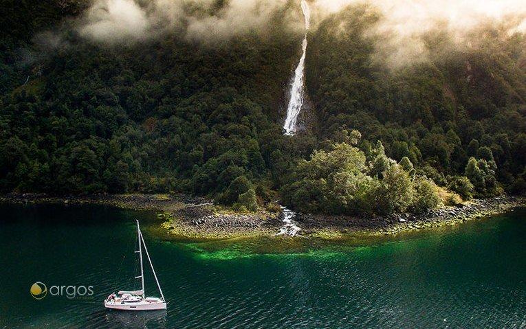 Wasserfälle - Patagonische Fjorden