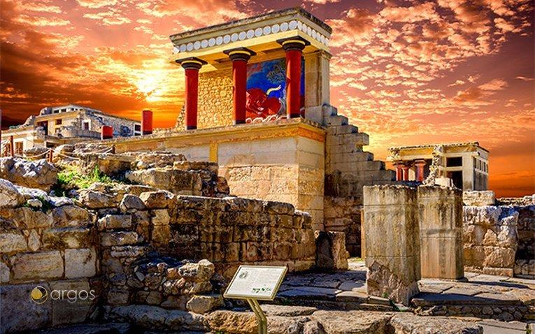 Antike Stätten von Knossos