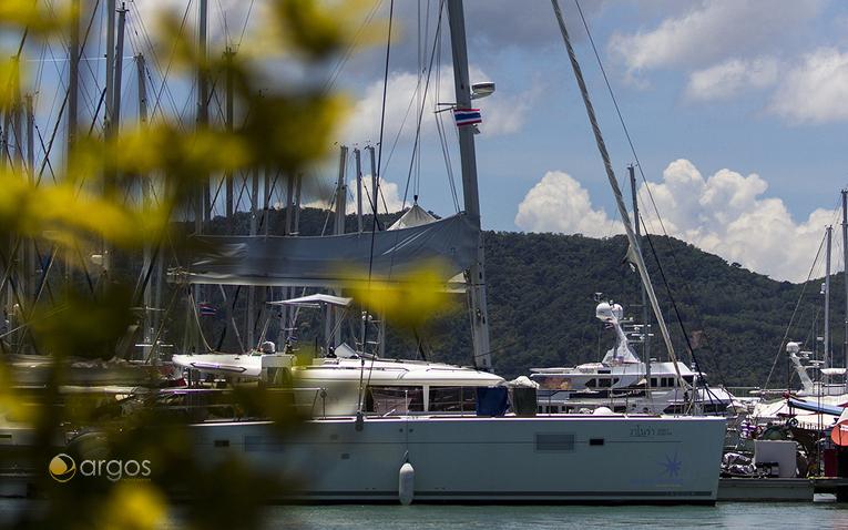 Yacht Haven Marina im Golf von Thailand