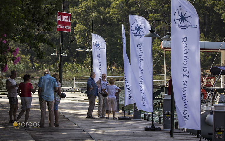 Die gepflegte und gemütliche Club Marina in Göcek lädt zum Verweilen ein