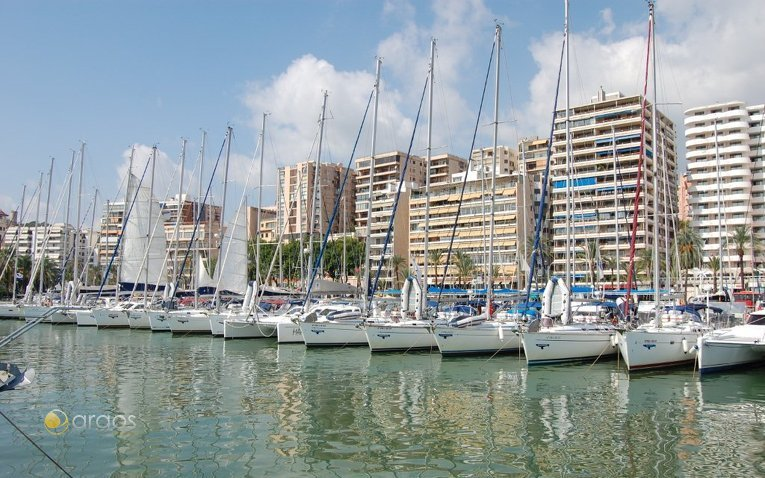 Yachtflotte von Alboran Charter