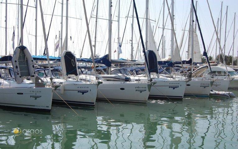 Monohull-Flotte von Alboran Charter